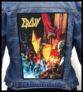 EDGUY - The Savage Poetry -- Backpatch