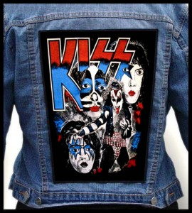 KISS - Band -- Backpatch