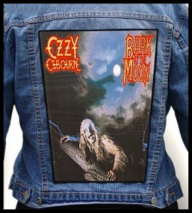 OZZY OSBOURNE - Bark at the Moon #2 -- Backpatch
