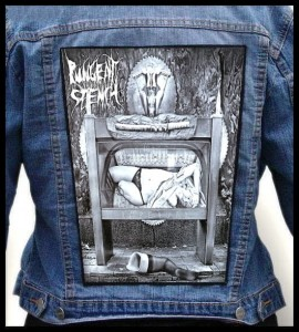 PUNGENT STENCH - Ampeauty -- Backpatch