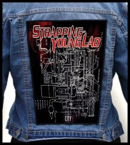 STRAPPING YOUNG LAD - City -- Backpatch