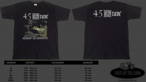 T-shirt 45 GRAVE - Sleep In Safety