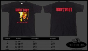 T-shirt ABATTOIR - The Only Safe Place