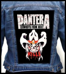 PANTERA - Cowboys From Hell #2 -- Backpatch