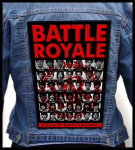 BATTLE ROYALE -- Backpatch