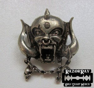 MOTORHEAD - Head -- Metal Pin
