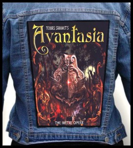AVANTASIA - The Metal Opera -- Backpatch