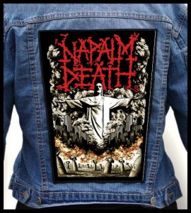 NAPALM DEATH - Jesus -- Backpatch