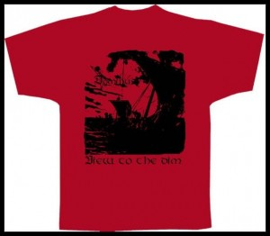 T-shirt DOMINUS - View to the Dim / Red