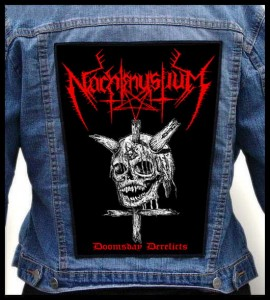 NACHTMYSTIUM - Doomsday Derelicts -- Backpatch