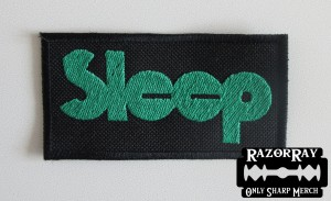 SLEEP -- Embroidered Patch
