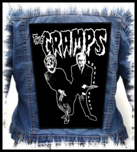 THE CRAMPS - Rocking Bones -- Backpatch