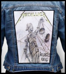 METALLICA - ...and Justice for All -- Backpatch