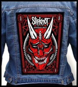 SLIPKNOT - Antennas To Hell -- Backpatch