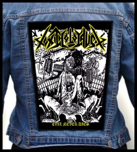 TOXIC HOLOCAUST - Evil Never Dies -- Backpatch