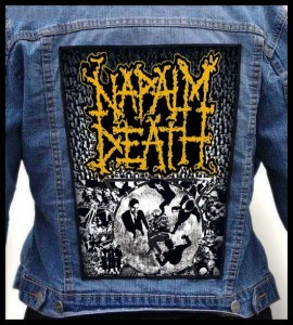 NAPALM DEATH - Utilitarian -- Backpatch