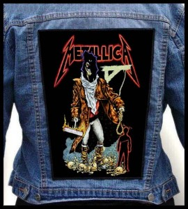 METALLICA -  The Unforgiven -- Backpatch
