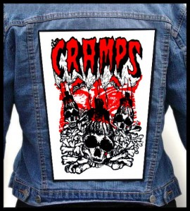 THE CRAMPS - Skulls -- Backpatch