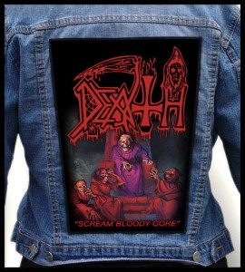 DEATH - Scream Bloody Gore -- Backpatch