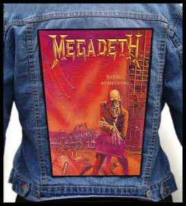 MEGADETH - Peace Sells.... #2 -- Backpatch