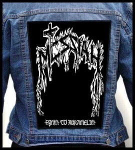 MESSIAH - Hymn to Abramelin -- Backpatch