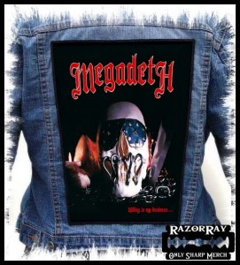 MEGADETH - Killing Is My Business... -- Backpatch