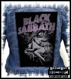 BLACK SABBATH - God Is Dead  -- Backpatch