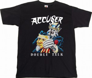 T-shirt ACCUSER - Double Talk