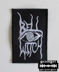 BELL WITCH [white] -- Embroidered Patch