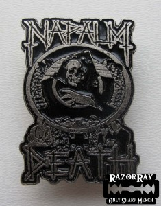 NAPALM DEATH - Life -- Metal Pin