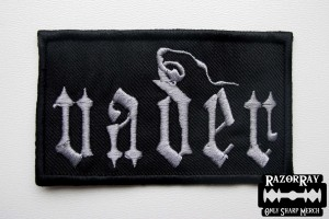 Official VADER -- Embroidered Patch