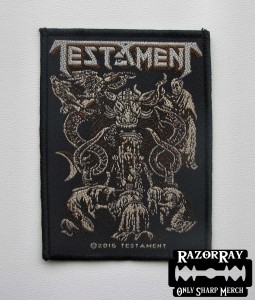 TESTAMENT - Demonarchy -- Woven Patch