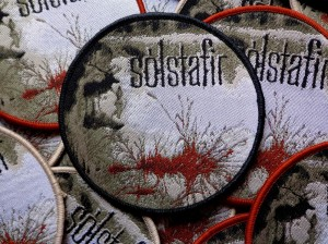 SOLSTAFIR - BERDREYMINN [black border] -- Woven Patch