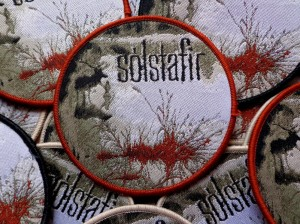 SOLSTAFIR - BERDREYMINN [brown border] -- Woven Patch
