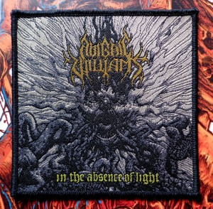 ABIGAIL WILLIAMS - IN THE ABSENCE OF LIGHT [black borders] -- Woven Patch