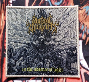 ABIGAIL WILLIAMS - IN THE ABSENCE OF LIGHT [cream borders] -- Woven Patch