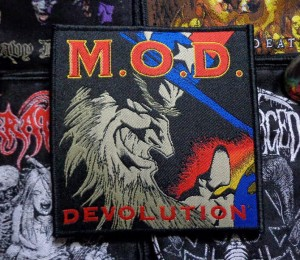 M.O.D. - DEVOLUTION [black border] --- Woven Patch