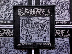 SAMAEL - MEDIEVAL PROPHECY [black border] -- Woven Patch