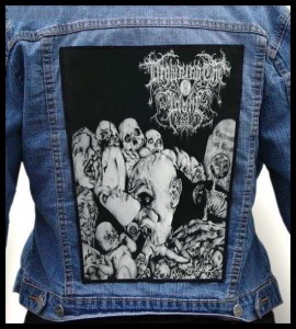 DROWNING THE LIGHT - Catacombs of Blood -- Backpatch