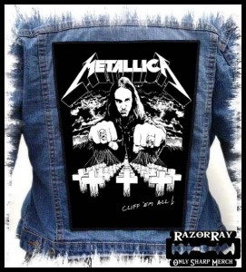 METALLICA - Cliff'em All ! #2  -- Backpatch
