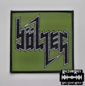 BOLZER [green] -- Woven Patch