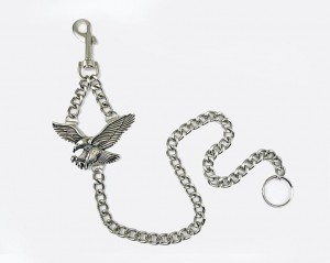 Metal Key Chain EAGLE with Key Ring [62cm]