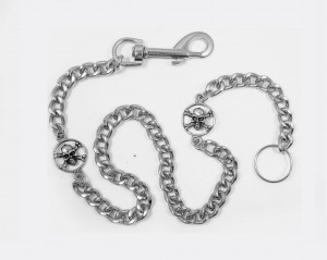 Metal Key Chain SKULLS [62cm]