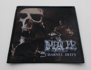 IMPALER - Charnel Deity [black border] -- Woven Patch