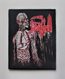 DEATH - Human [black border] -- Woven Patch