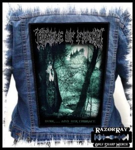 CRADLE OF FILTH - Dusk and Her Embrace -- Backpatch