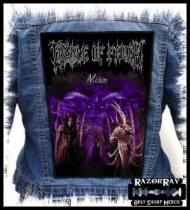 CRADLE OF FILTH - Midian -- Backpatch