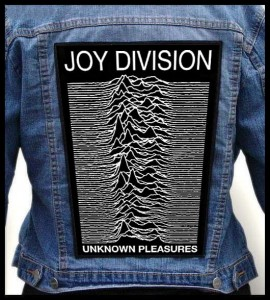 JOY DIVISION - Unknown Pleasures -- Backpatch