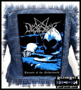 DESASTER - Tyrants of the Netherworld -- Backpatch