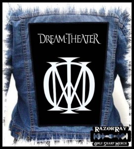 DREAM THEATER - Logo -- Backpatch